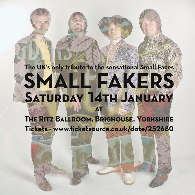Small Faces tribute band Small Fakers in Brighouse