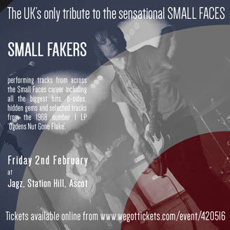 Small Faces Tribute Small Fakers in Ascot