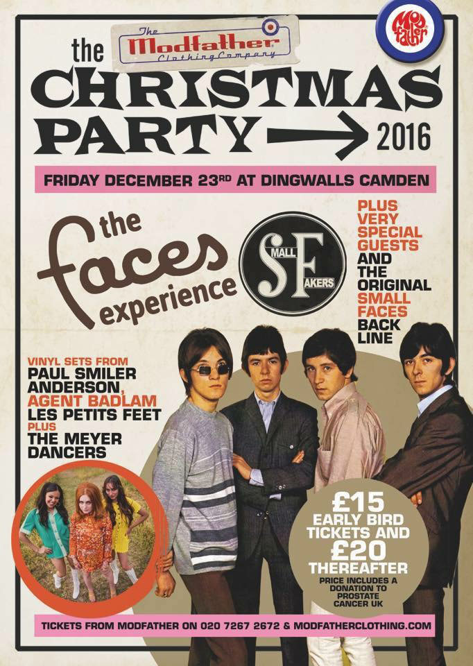 Small faces and The Who - Tribute bands at Waterside Arts Centre Sale Manchester