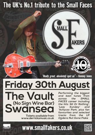 Small Fakers Swansea The Vault Tickets No Sign Wine Bar