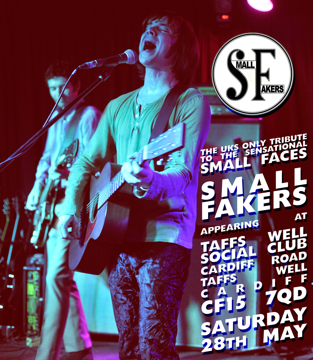 Small Faces Tribute - The Small Fakers in Cardiff Wales