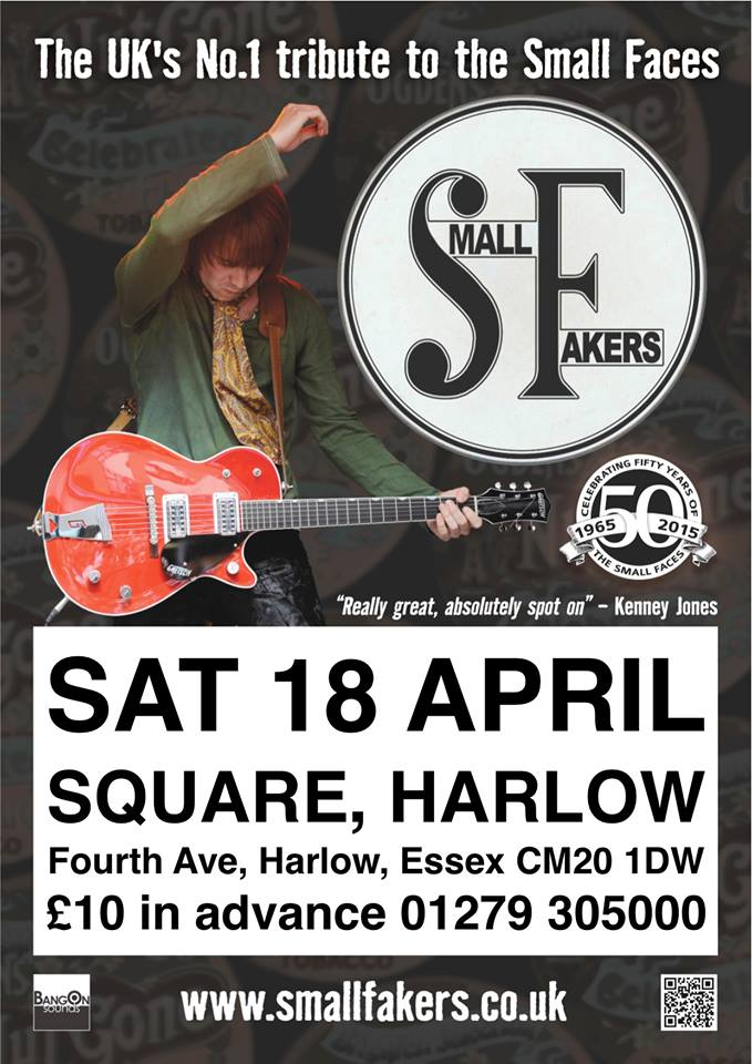 The Square, Harlow on Sat 18th April