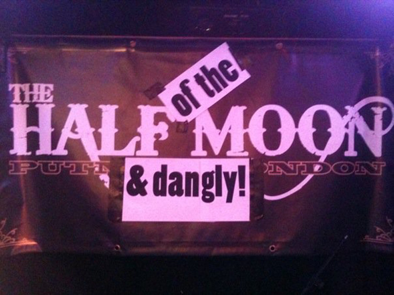 Small Fakers at The Half Moon (and dangly) in Putney, London